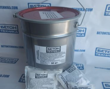 Пусковая смесь для бетононасоса